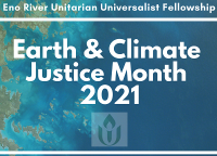 Earth & Climate Justice Month: Earth Day Worship Service