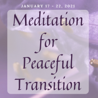 Shared Meditation for Peaceful Transition
