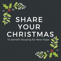 Share Your Christmas: Household Items for Housing for New Hope