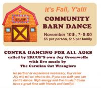 It's Fall, Y'All Barn Dance
